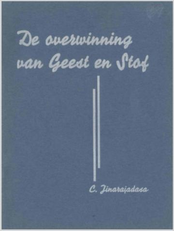 De Overwinning Van Geest En Stof  C Jinarajadasa (1920)