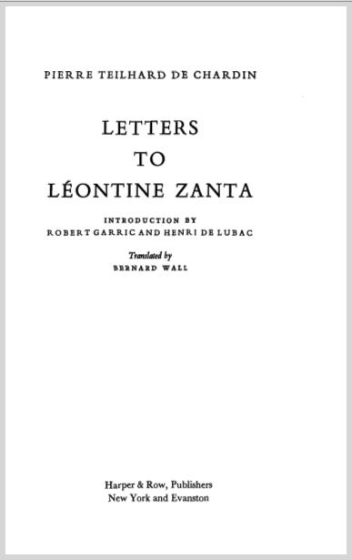 LettersToLeontineZantaPierreTeilhardDeChardin.jpg