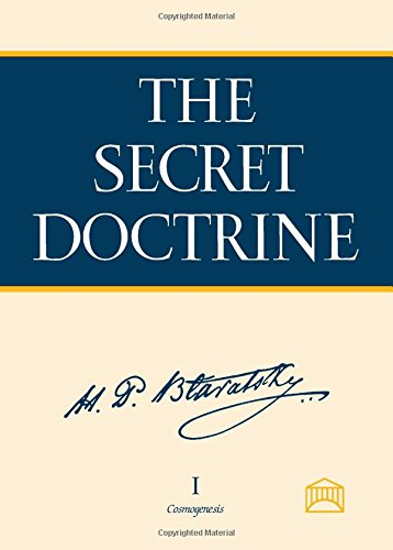 THE SECRET DOCTRINE VOL 1 Cosmogenesis HP Blavatsky ASCII EDITION