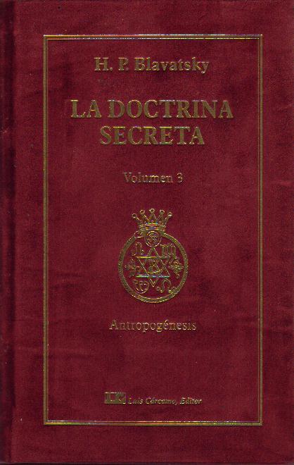 LA DOCTRINA SECRETA 3 H P Blavatsky