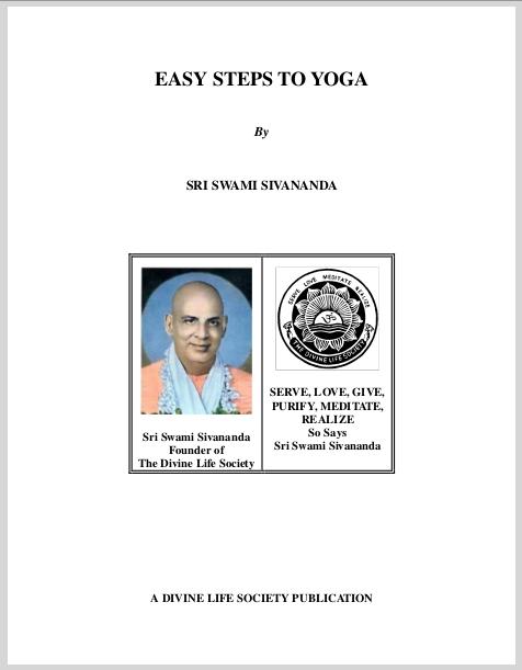 Easy Steps To Yoga  Sri Swami Sivananda