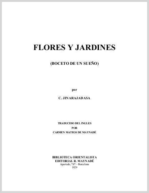 FloresYJardinesBocetoDeUnSuenoCJinarajadasa.jpg