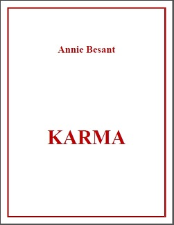 Karma Annie Besant Spanish Translation