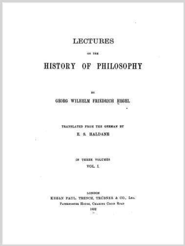LecturesOnTheHistoryOfPhilosophyVolume1GeorgWilhelmFriedrichHegel.jpg