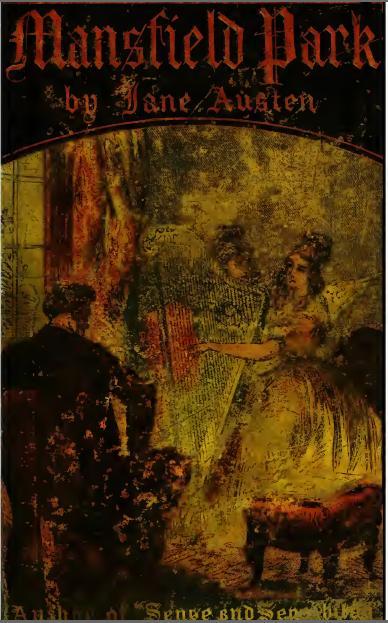 Mansfield Park : a novel Jane Austen (1872)
